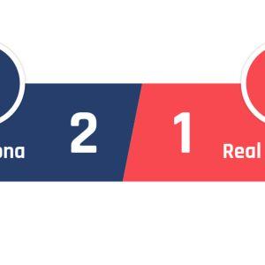 Barcelona - Real Sociedad 2-1
