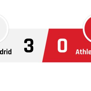 Real Madrid - Athletic Bilbao 3-0