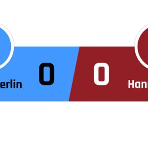 Hertha Berlin - Hannover 0-0