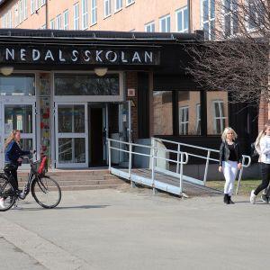 Haaparannan Tornedalsskolan.