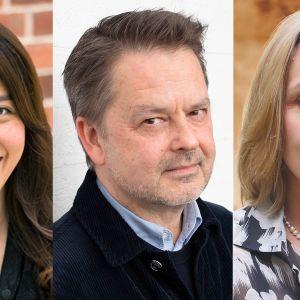 Faith Tan Singaporesta, Mikael Aaltonen Suomesta ja Pia Krämer Saksasta aloittavat tehtävissään syksyllä 2019