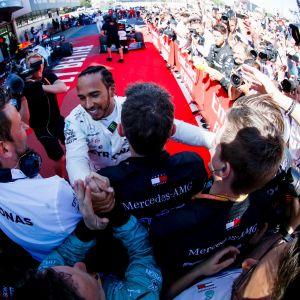 Lewis Hamilton, Barcelona 2019