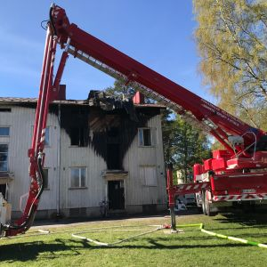 Hipposkylässä Tampereella oli tulipalo.