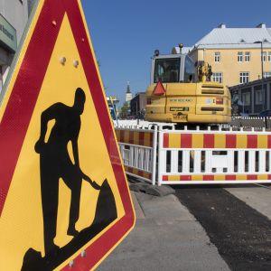 Katutyöt, Oulu, liikenne