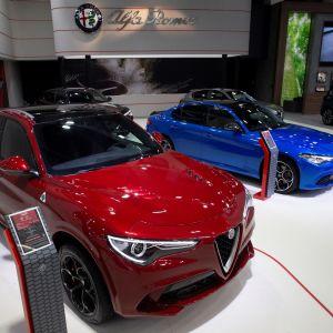 Fiat Chryslerin Alfa Romeoita esiteltiin Barcelonassa toukokuun 9. päivä.