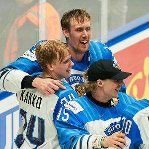 Marko Anttila ja Kaapo Kakko