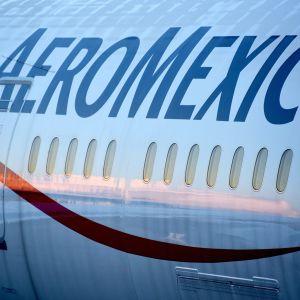 Aero Mexicon  Boeing 787-9.