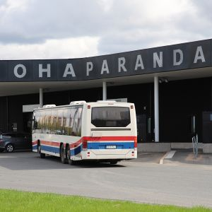 Tornio-Haaparanta matkakeskus.