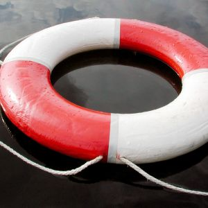 Kuva pelastusrenkaasta
