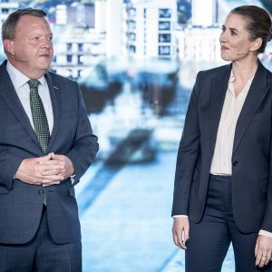 Lars Løkke Rasmussen ja Mette Frederiksen