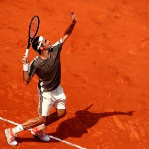 Roger Federer kuvassa