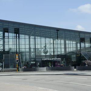 Malmön rautatieasema.