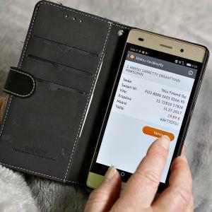 Osuuspankin asiakasa käyttää OP Mobiili -verkkosovellusta.