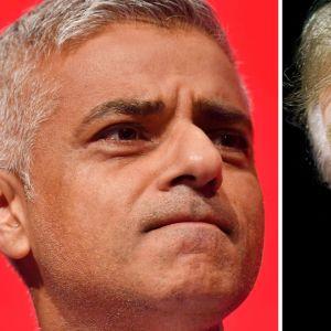 Lontoon pormestari Sadiq Khan ja Yhdysvaltain presidentti Donald Trump ovat käyneet sanasotaa jo yli kaksi vuotta.