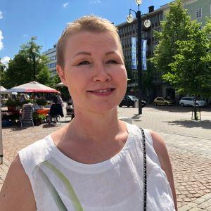 Lahtelainen kokoomuspoliitikko Milla Bruneau