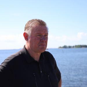 Kotkan kaupunginpuutarhuri Heikki Laaksonen