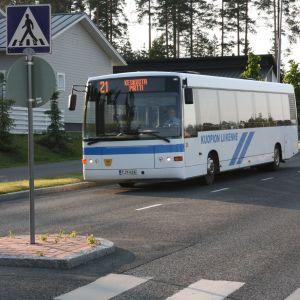 Kuopion liikenteen paikallisbussi