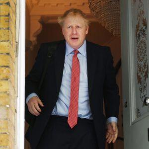 Pääministeriehdokas kotiovellaan Lontoossa 21. kesäkuuta.