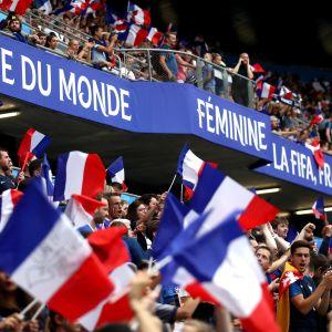 Ranskan MM-fanit