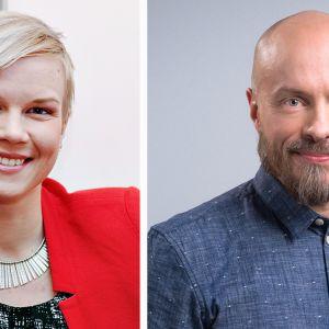 Salla-Maaria Laaksonen ja Sami Koivisto.