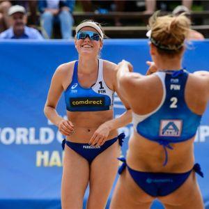 Taru Lahti-Liukkonen ja Anniina Parkkinen kuvassa