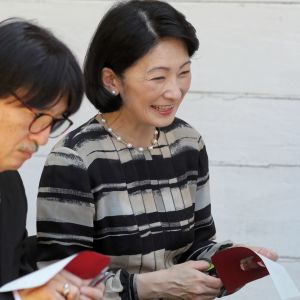 Japanin kruununprinssi Akishino ja kruununprinsessa Kiko