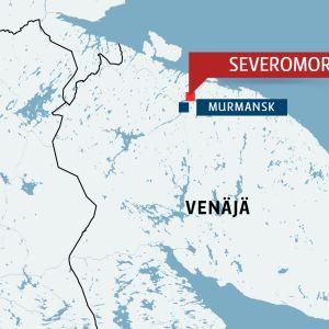 Kartta severomorsk