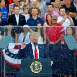 Trumpin itsenäisyyspäivän puhe
