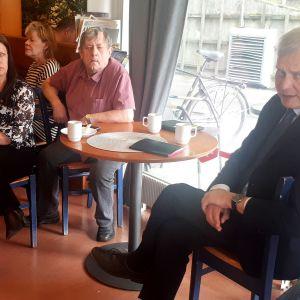 Pääministeri Antti Rinne (sd.) veti väkeä kuulemaan ja kysymään hallitusohjelmasta.