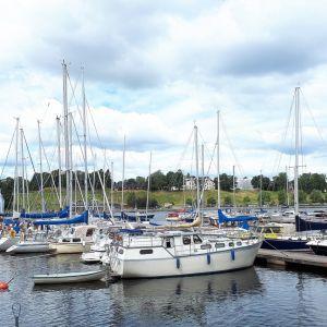 Veneitä Lappeenrannan satamassa