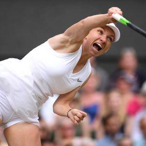 Simona Halep voitti uransa ensimmäisen Wilmbledon-mestaruuden.