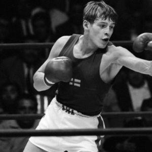 Kuvassa olympiapronssimies Arto Nilsson vuodelta 1968