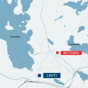 Kartta Lahti