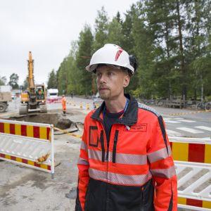 Tekninen johtaja Antti Tuppura.
