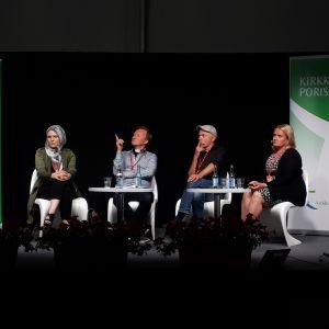 Suaad Onniselkä, Jarmo Kokkonen, Arno Kotro, Kirsi Tarkka, SuomiAreena