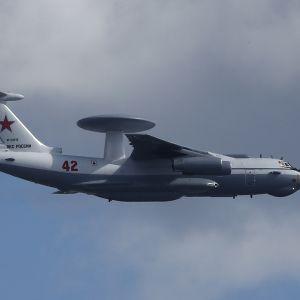 venäläinen sotilaskone ilmassa