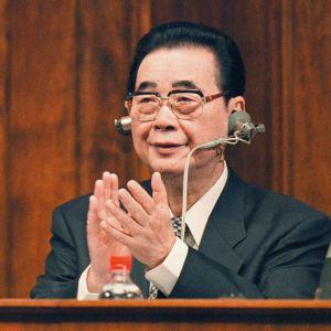 Kiinan entinen presidentti Li Peng.
