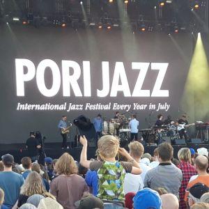 Pori Jazz jazzkonsertti poika jazzfestivaali jazz