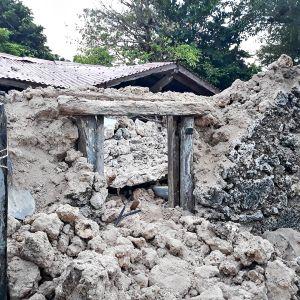 Maanjäristyksen tuhoja Filippiineillä 27. heinäkuuta 2019.