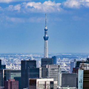 Tokion pilvenpiirtäjiä.