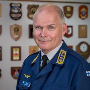 Puolustusvoimain komentaja Jarmo Lindberg