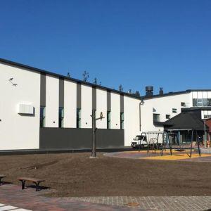 Vuoksenniskan uusi koulukeskus Imatralla.