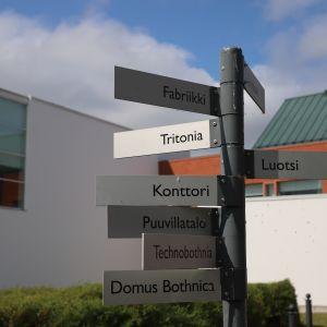 Tritonian muutokset ovat osa Vaasan yliopistokampuksen saneerausta.