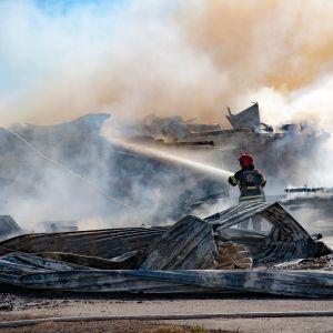 Tulipalo Munakassa
