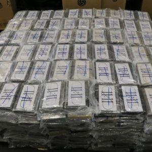 Kokaiinipaketteja.
