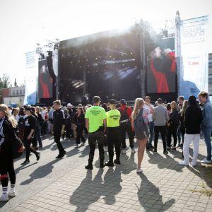 Seitsemäs Solar Sound -kaupunkifestivaali käynnistyi Seinäjoen keskustassa aurinkoisessa säässä.