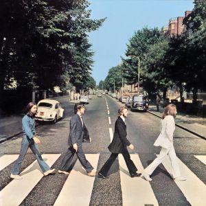 Beatlesin levynkansi.
