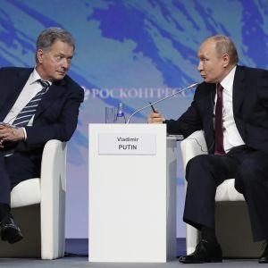 Sauli Niinistö Vladimir Putin