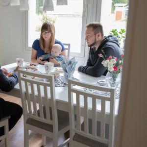 Sami Gustaffon ja Metsälän perhe