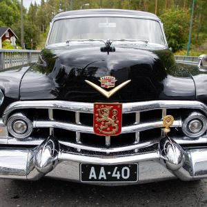 Presidentti Paasikiven 1952 Cadillac